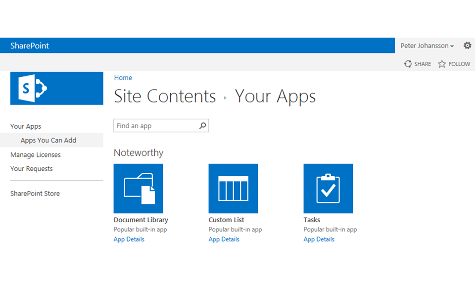 Hosted Sharepoint Apps